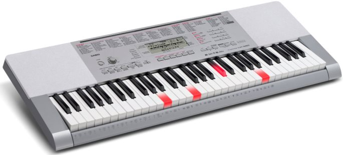 Casio LK280 61 Key Lighted Keyboard
