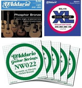 D Addario Guitar Strings