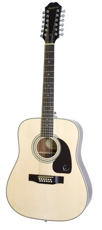Epiphone-DR-212 12-string acoustic guitar