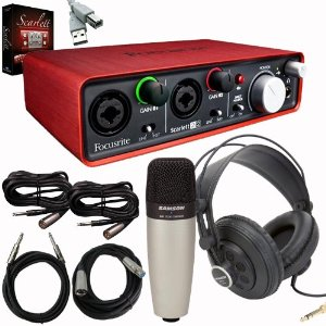 Amazing Home Recording Studio Packages Bundles For Beginners Keyboards Largest Home Design Picture Inspirations Pitcheantrous