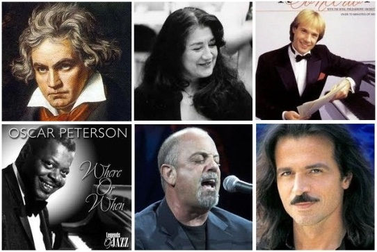 greatest, famous pianists and piano players
