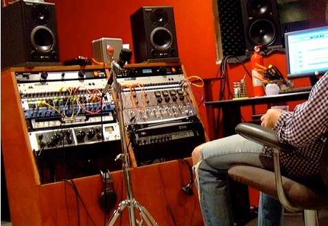 Excellent Home Recording Studio Equipment Keyboards Guitars Amps Largest Home Design Picture Inspirations Pitcheantrous