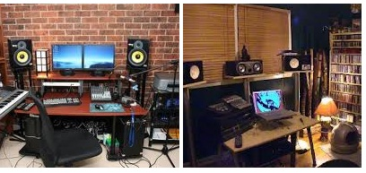 Superb Home Recording Studio How To Build One Keyboards Guitars Amps Largest Home Design Picture Inspirations Pitcheantrous