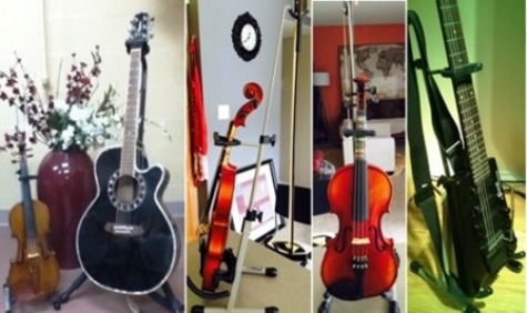 music instrument stands
