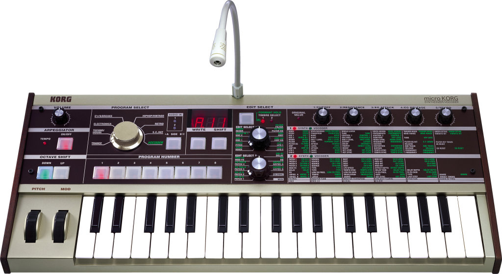 Korg MicroKorg Analog Modeled Synth / Vocoder