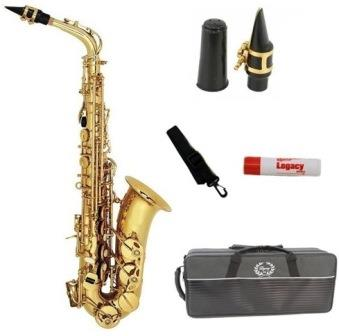 buy Legacy AS750 Student / Intermediate Alto Saxophone With Case and Accessories