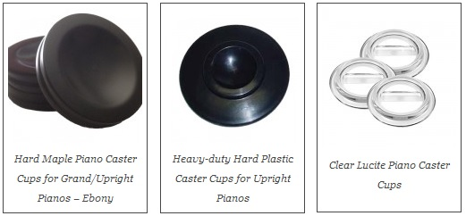 Piano Caster Cups