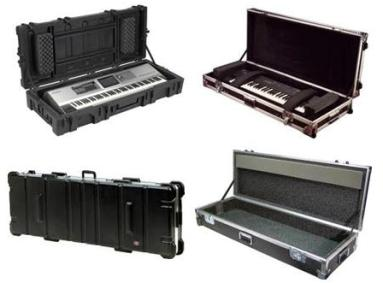 Gator, SKB, Yamaha Keyboard cases, Flight case