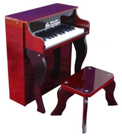 Schoenhut 25 Key Elite Spinet with Bench