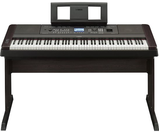 yamaha dgx-650 piano keyboard