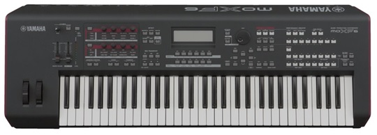 yamaha MOXF6 61-key synthesizer
