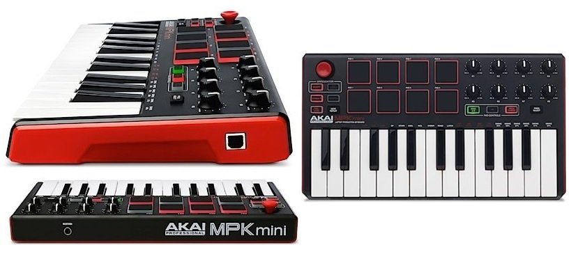 Akai Professional MPK Mini MKII (25-Key USB MIDI Keyboard
