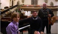 Bradley Snel Child Pianist