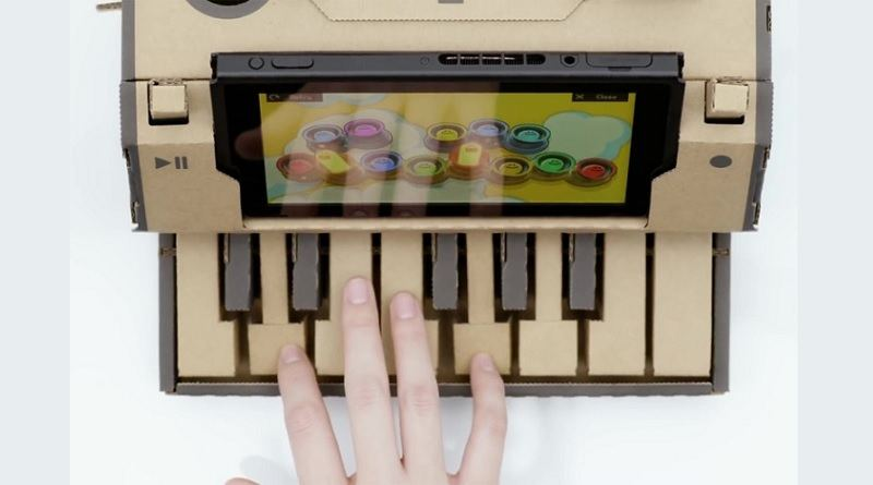 Nintendo Switch Labo Piano: Can you use it for serious music-making