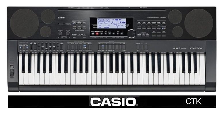 casio ctk 61-key arranger keyboards