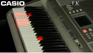 how to play songs on casio