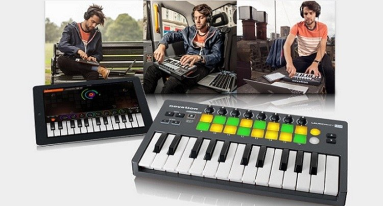 compact midi controller keyboard how to bring home the right one. Black Bedroom Furniture Sets. Home Design Ideas