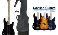 Davison electric bass guitar package for Beginners