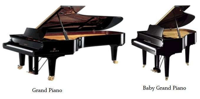 Baby grand piano pianos for sale keytarhq music gear for Smallest baby grand piano dimensions