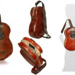 Guitar shaped backpack Pratesi