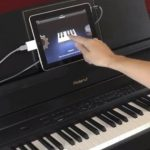 how to connect digital piano to computer