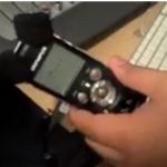 how to connect digital voice recorder to computer