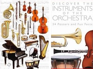 musical instruments in band / orchestra