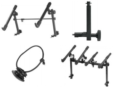 keyboard stand attachments
