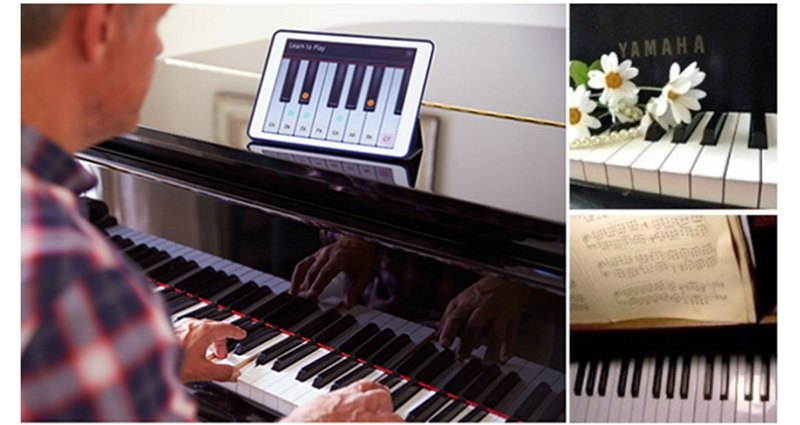 Learn to Play Piano: Its easier, faster and can be done at ...