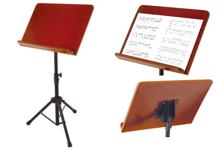 Wooden Music Stands: Reviews, Designs & Plans for DIY ...