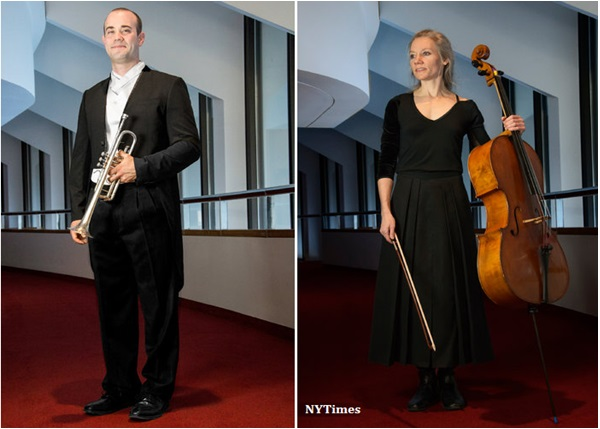 Orchestra musicians get in tune with modern dress code keyboards