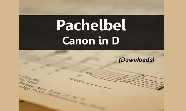 Pachelbels Canon In D Major Sheet Music Pdf Various