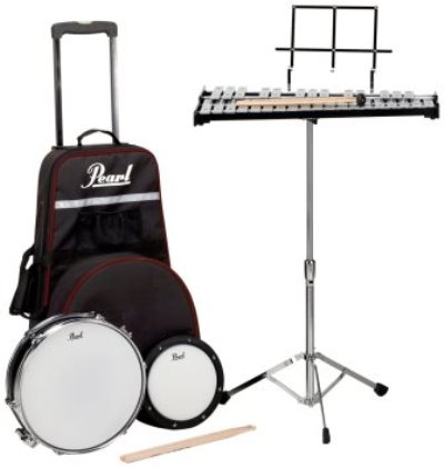 Pearl pl900c educational kits snare and bell kit