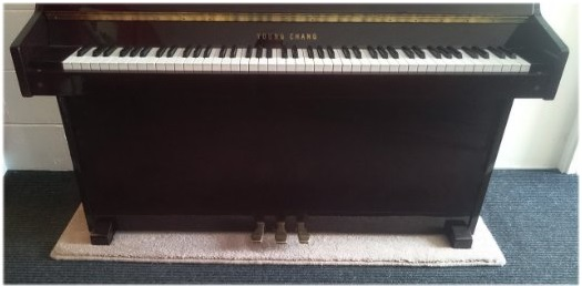 Piano Carpet Provides Underfloor Heating Protection For