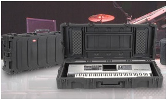Hard cases / flight cases for piano keyboard