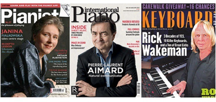 Best Piano Magazines & Best Keyboard/Synth Magazines