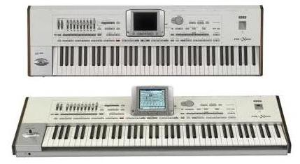 Professional arranger keyboard workstation from korg for Roland vs yamaha piano