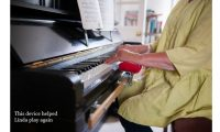remap inventor helps woman play piano again