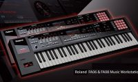 Roland FA series workstation keyboards
