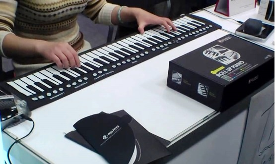 Buy Roll Up Piano Keyboard For Practicing On The Go