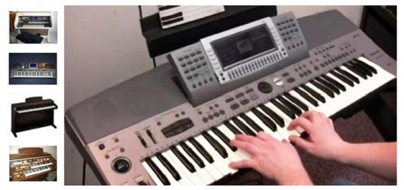 used technics piano keyboard synthesizer organ buy sale prices keytarhq music gear reviews. Black Bedroom Furniture Sets. Home Design Ideas