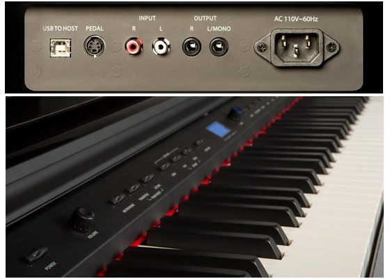 williams overture 88-key digital piano