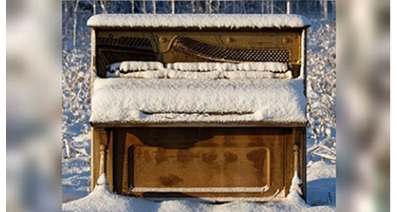 Winter tips for piano