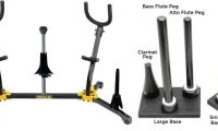 woodwind instrument stands