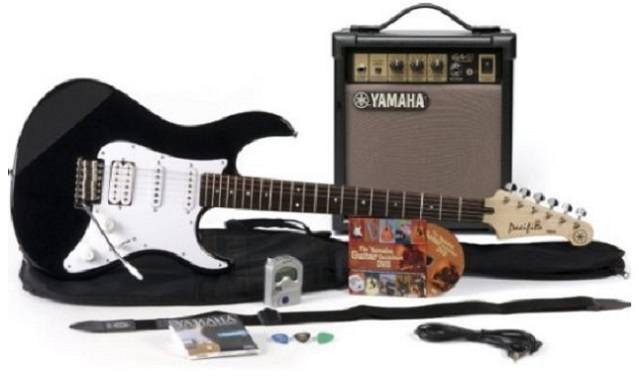 Yamaha gigmaker EG electric guitar package