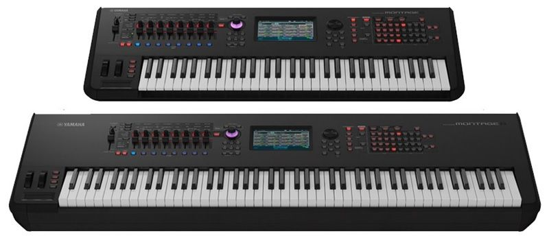 yamaha montage 6 7 8 synthesizers review rating. Black Bedroom Furniture Sets. Home Design Ideas